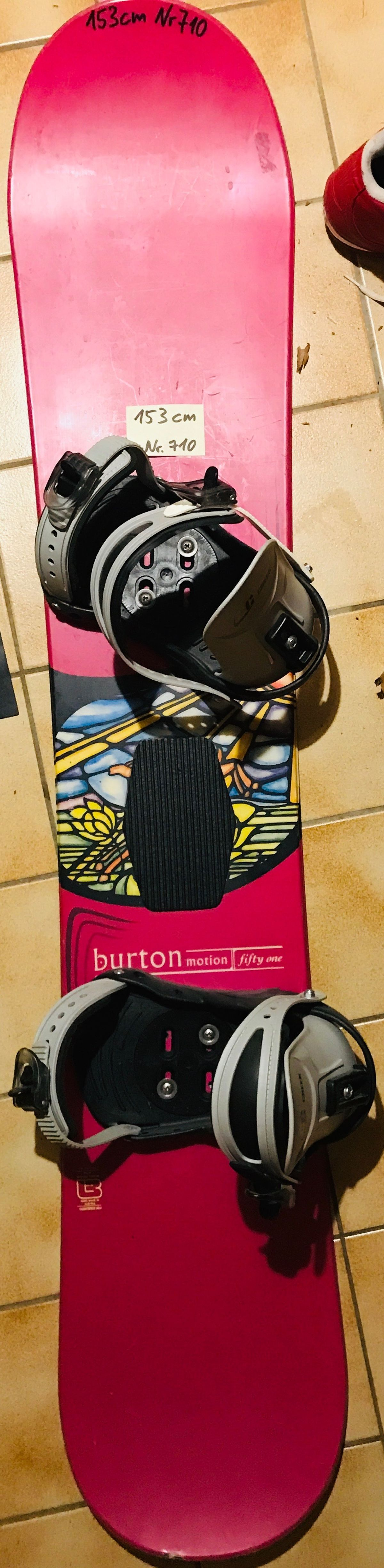 153 cm_Nr710_Burton motion fifty one - mit CC easy creek SoftBootBindung - pink